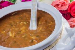 摩洛哥汤焙盘  库存照片