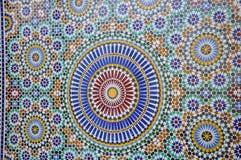 摩洛哥瓦片 免版税图库摄影