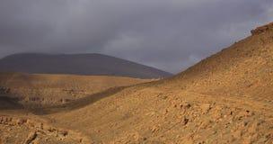 摩洛哥的山 库存图片