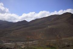 摩洛哥的筒形岩石 免版税库存照片