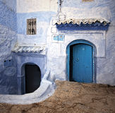 从摩洛哥的街道 免版税库存照片