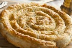 摩洛哥蛇形状的酥皮点心 免版税库存照片