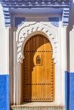 摩洛哥门 库存图片