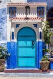 摩洛哥门 库存照片