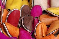 摩洛哥鞋子 免版税图库摄影