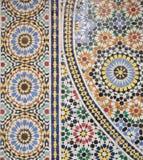 摩洛哥马赛克细节背景 库存照片
