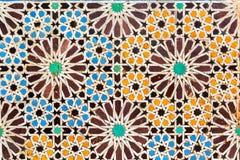 摩洛哥马赛克 库存照片