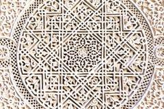 摩洛哥建筑学细节 免版税库存图片