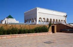 摩洛哥 默罕默德陵墓v 免版税库存图片