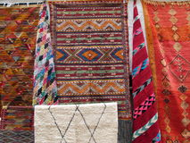 摩洛哥巴巴里人地毯 库存图片