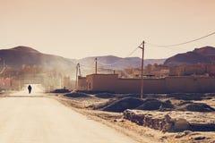 摩洛哥巴巴里人村庄 图库摄影