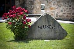 撒丁岛。对博物馆的入口 库存图片