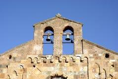 撒丁岛中世纪教会 免版税库存图片