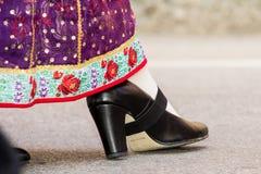 撒丁岛传统服装 库存图片
