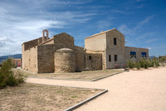 撒丁岛地标 Saint'Efisio 免版税库存照片