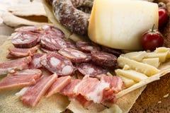 撒丁岛开胃菜 免版税库存照片