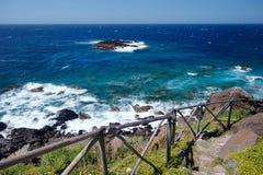撒丁岛海岸的风景 免版税库存照片