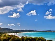 撒丁岛海 免版税库存图片