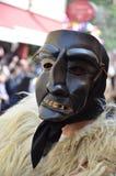 撒丁岛的传统面具 图库摄影