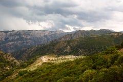 撒丁岛的平安的农村风景 免版税库存照片