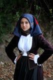 撒丁岛的服装 图库摄影
