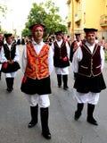 撒丁岛的服装 免版税库存照片