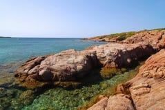 撒丁岛的海湾 免版税库存图片