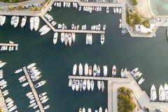 撒丁岛的美丽的海 免版税库存照片