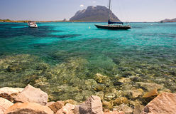 撒丁岛的节假日 免版税库存照片