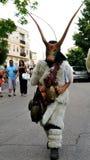 撒丁岛的面具 免版税库存照片