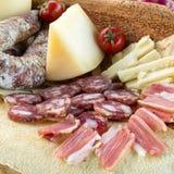 撒丁岛的食物 免版税图库摄影