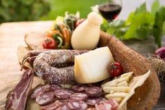 撒丁岛的食物 免版税库存图片