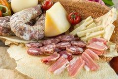 撒丁岛的食物 库存照片