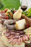 撒丁岛的食物 库存图片