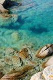 撒丁岛透明度 免版税库存照片