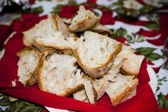 撒丁岛面包 免版税库存图片