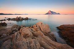 撒丁岛,意大利。 免版税库存照片