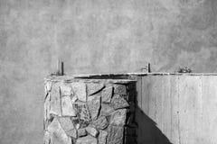 撒丁岛,意大利-墙壁的纹理 免版税图库摄影