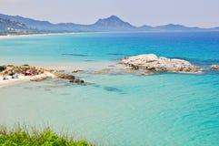 撒丁岛,意大利 库存图片