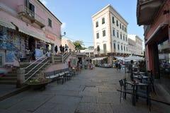 撒丁岛,拉马达莱纳,撒丁岛的东北部的前个天堂 免版税库存照片