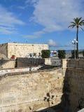 撒丁岛 卡利亚里 Castello 免版税库存图片
