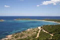 撒丁岛-海湾在圣特奥多罗 图库摄影