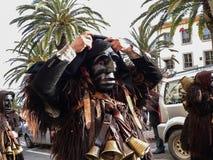 撒丁岛 狂欢节 库存图片