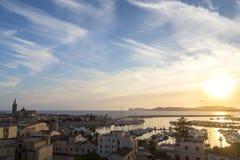 撒丁岛-阿尔盖罗 免版税库存照片