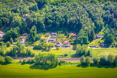 撒克逊人的瑞士自然储备 图库摄影