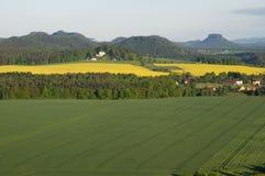 撒克逊人的瑞士,德国 免版税库存图片