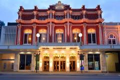 以撒剧院皇家在克赖斯特切奇新西兰 免版税库存图片