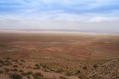 从撒哈拉大沙漠向伊夫兰 免版税库存照片