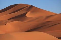 撒哈拉大沙漠在阿尔及利亚 免版税库存图片