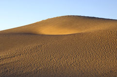 撒哈拉大沙漠沙子结构 库存图片